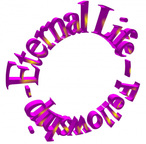 Eternal Life & Fellowship graphic