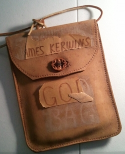 "Photo of a ""God bag"" given as a gag gift."