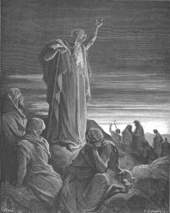 The Prophet Ezekiel by Gustav Doré