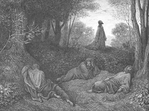 Jesus Praying in the Garden by Gustav Doré