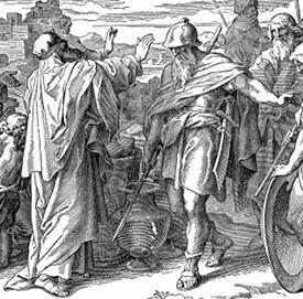 Melchizedek Blessing Abraham