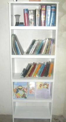 Pastor Edwin's bookcase