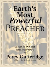 The cover of the e-book Earth's Most Powerful Preacher, by Jim Kerwin.