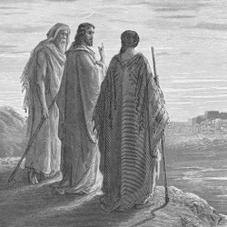 Doré's 'Jesus on the Road to Emmaus'