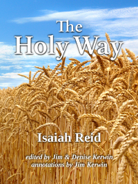 Cover of the new edition of 'The Holy Way' by Isaiah Reid