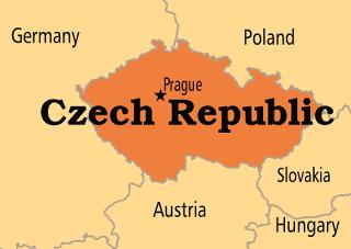 Map Of Germany And Czechoslovakia.Czech Republic Operation World
