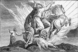 Doré's 'Elijah and Elisha'